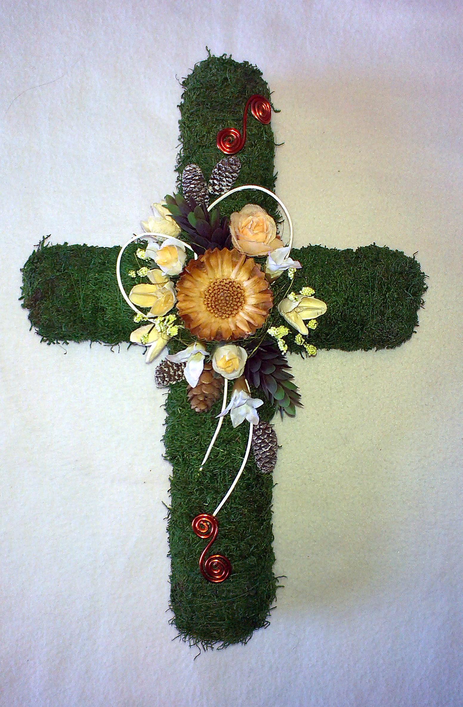 V tvare kríža