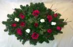 Príležitostný aranžmán s ružami
