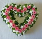 Ruže v srdci